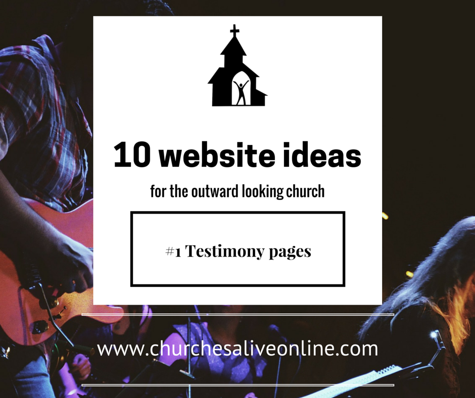 Tip 1 - Testimony pages