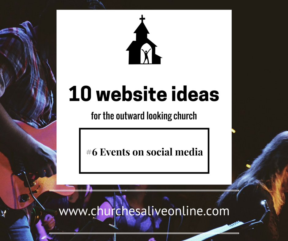 Tip 6 - Events on Social Media