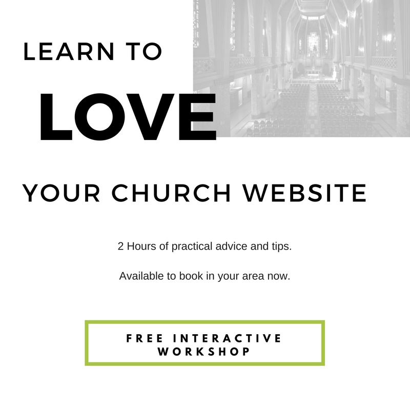Learn to LOVE your Church Website